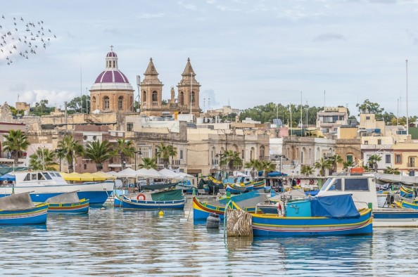 http://www.dreamstime.com/stock-photography-harbor-marsaxlokk-fishing-village-malta-image28388552